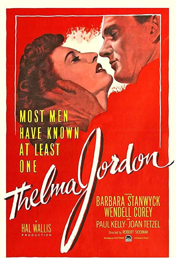 The File on Thelma Jordon kapak