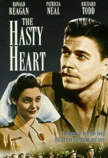 The Hasty Heart kapak