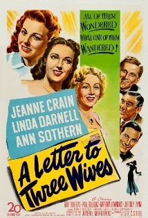 A Letter to Three Wives kapak