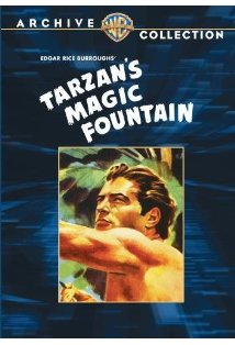 Tarzan's Magic Fountain kapak