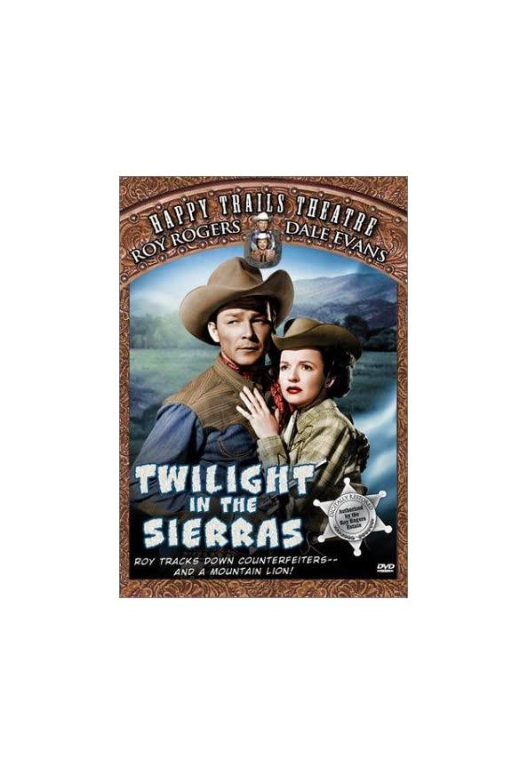 Twilight in the Sierras kapak