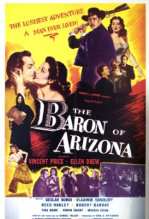 The Baron of Arizona kapak