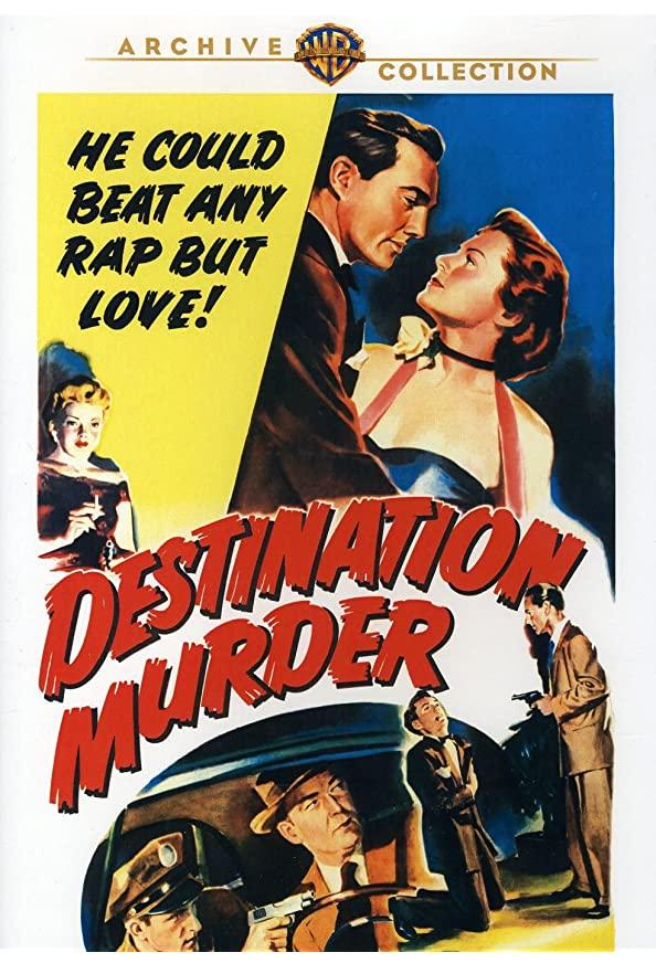Destination Murder kapak
