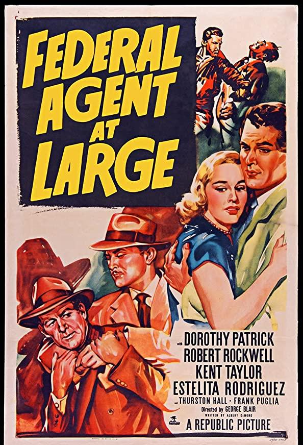 Federal Agent at Large kapak