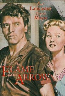 The Flame and the Arrow kapak