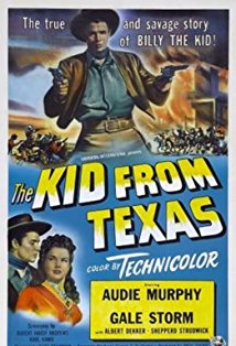 The Kid from Texas kapak