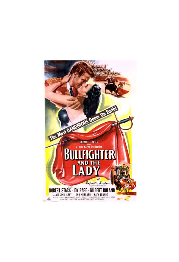 Bullfighter and the Lady kapak