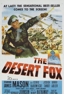 The Desert Fox: The Story of Rommel kapak