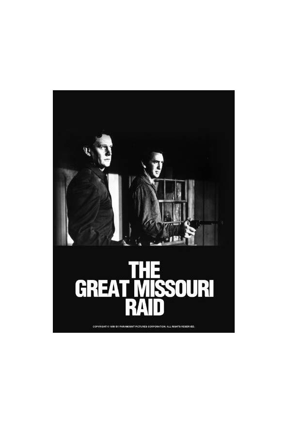 The Great Missouri Raid kapak