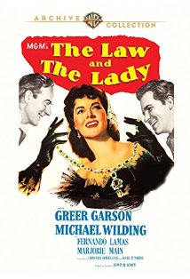 The Law and the Lady kapak
