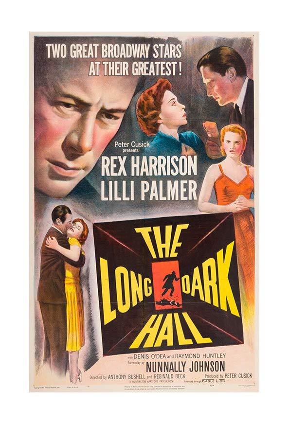 The Long Dark Hall kapak