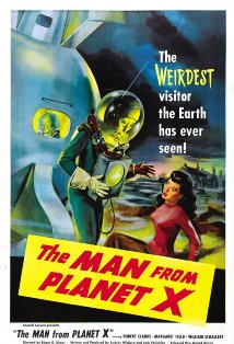 The Man from Planet X kapak