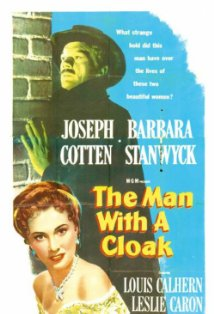 The Man with a Cloak kapak