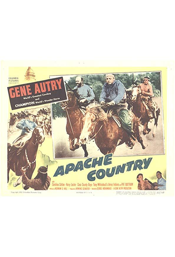 Apache Country kapak
