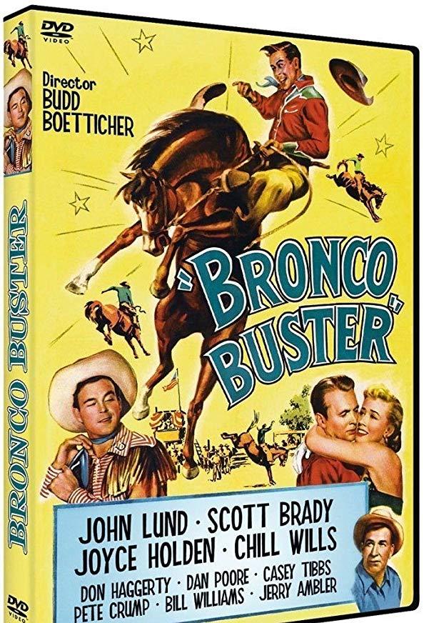 Bronco Buster kapak