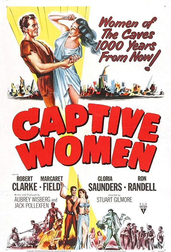 Captive Women kapak