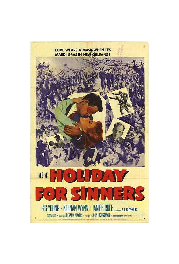 Holiday for Sinners kapak