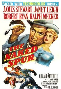 The Naked Spur kapak