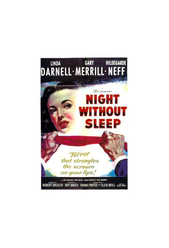 Night Without Sleep kapak