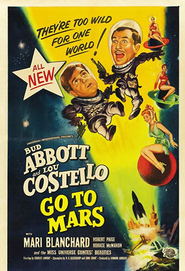 Abbott and Costello Go to Mars kapak