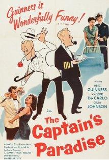 The Captain's Paradise kapak