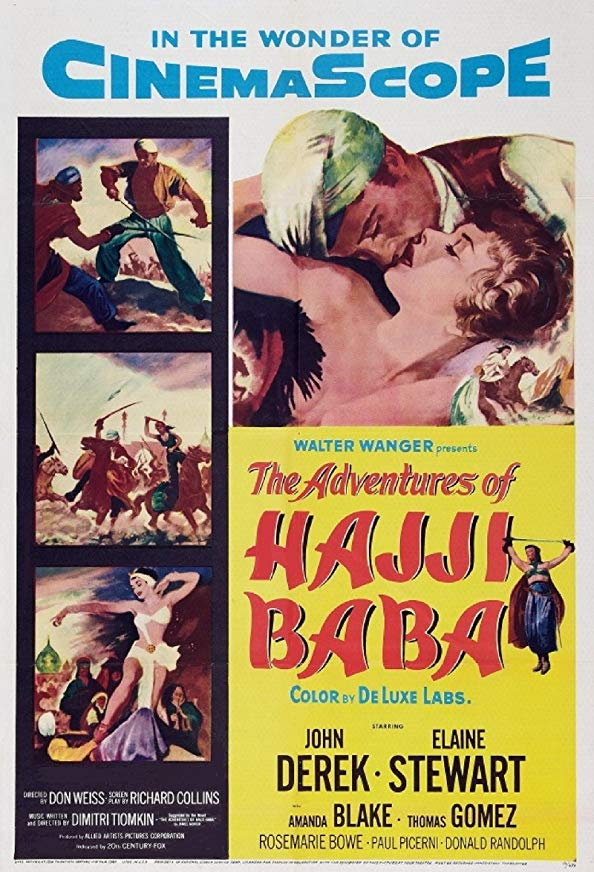 The Adventures of Hajji Baba kapak