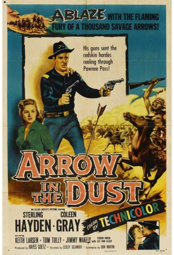 Arrow in the Dust kapak