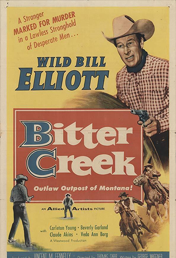 Bitter Creek kapak