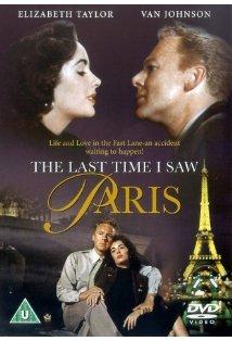 The Last Time I Saw Paris kapak