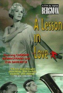 En lektion i kärlek kapak