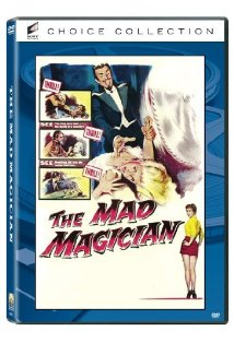 The Mad Magician kapak