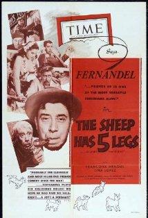 The Sheep Has Five Legs kapak
