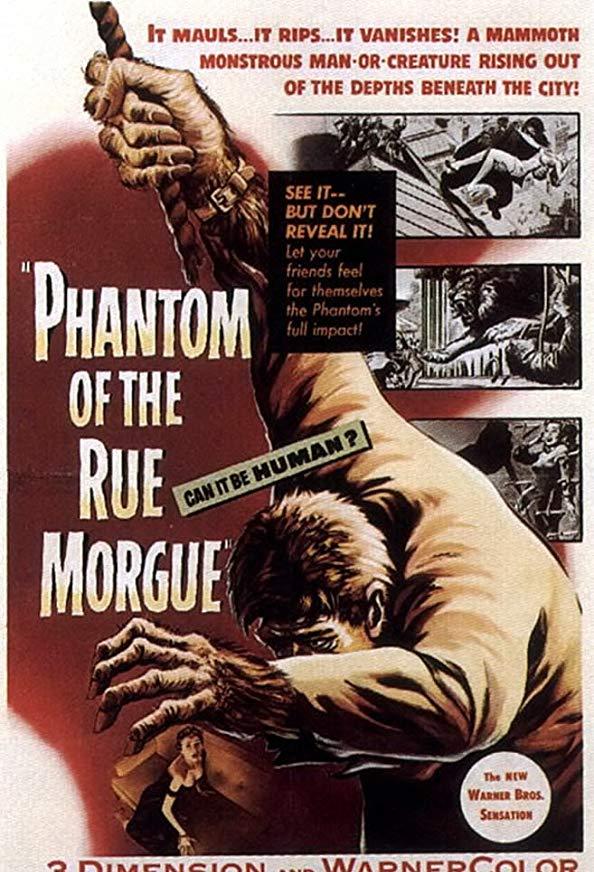 Phantom of the Rue Morgue kapak