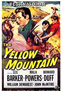 The Yellow Mountain kapak