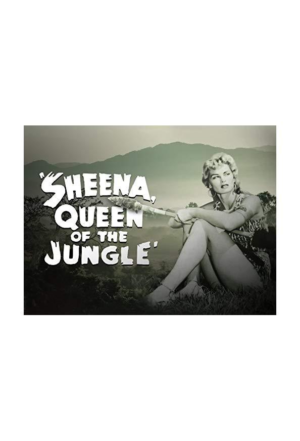 Sheena: Queen of the Jungle kapak