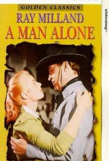 A Man Alone kapak