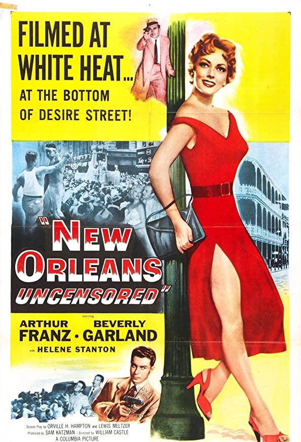 New Orleans Uncensored kapak