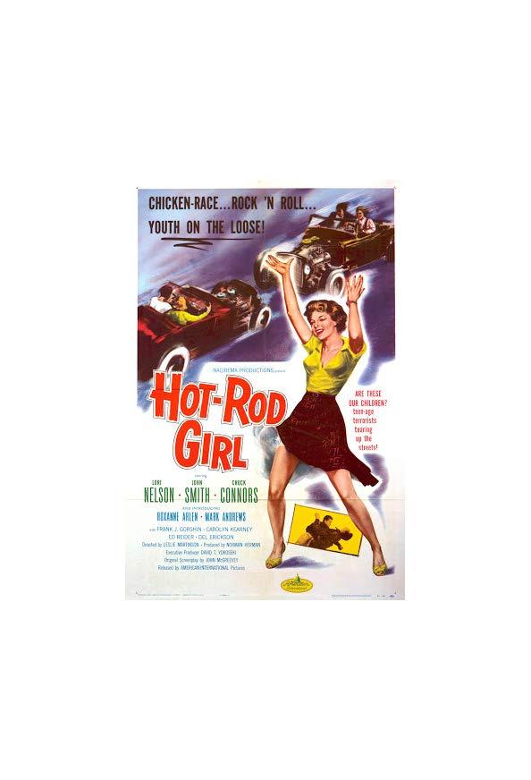 Hot Rod Girl kapak