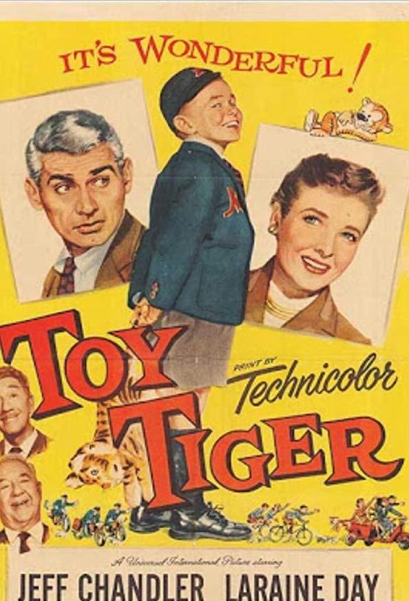 The Toy Tiger kapak