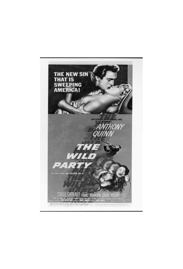 The Wild Party kapak