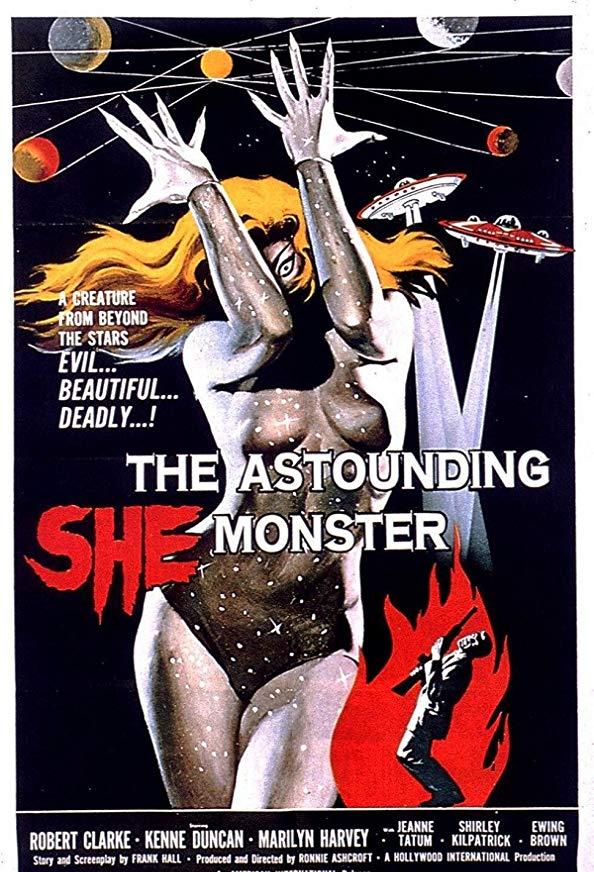 The Astounding She-Monster kapak