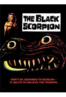 The Black Scorpion kapak