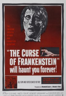 The Curse of Frankenstein kapak