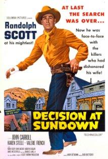Decision at Sundown kapak
