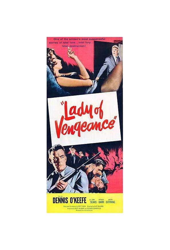 Lady of Vengeance kapak