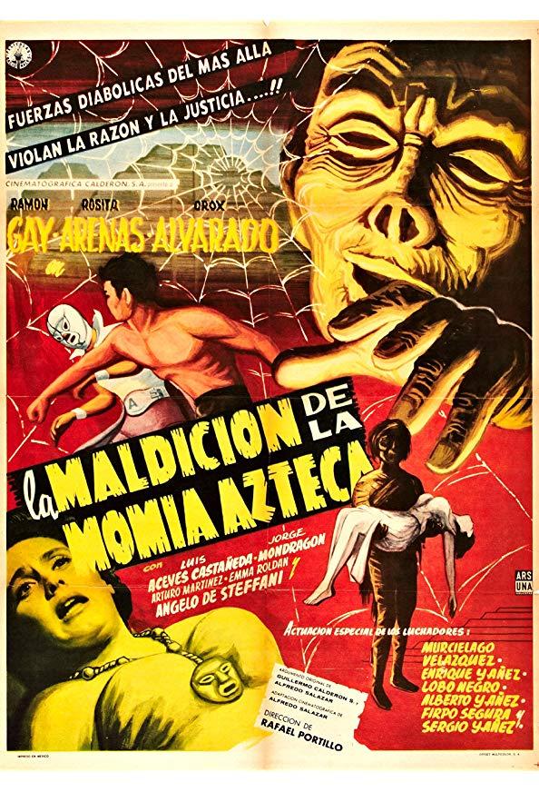 The Curse of the Aztec Mummy kapak