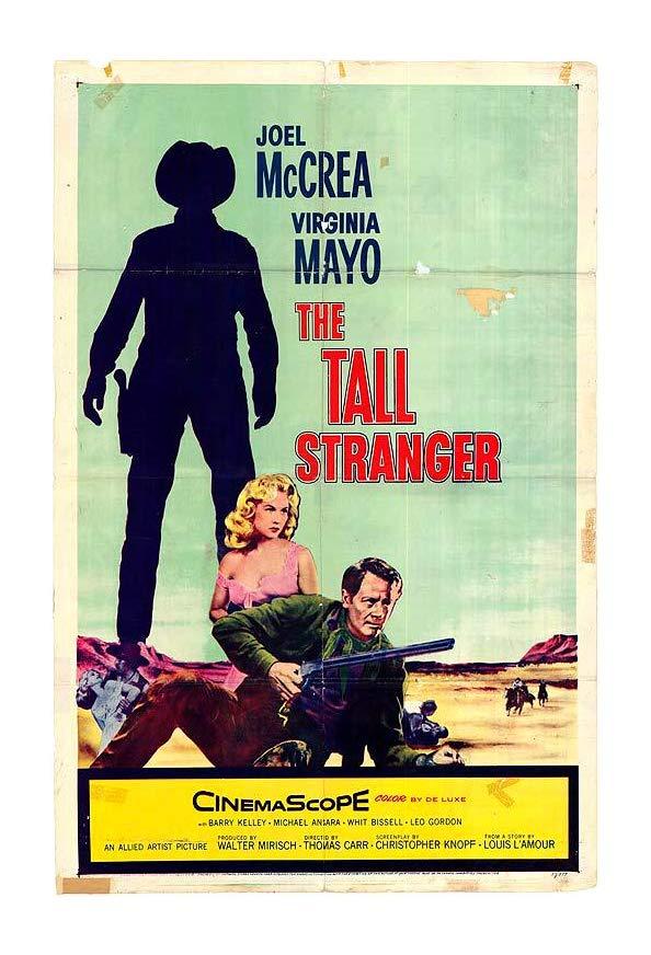 The Tall Stranger kapak