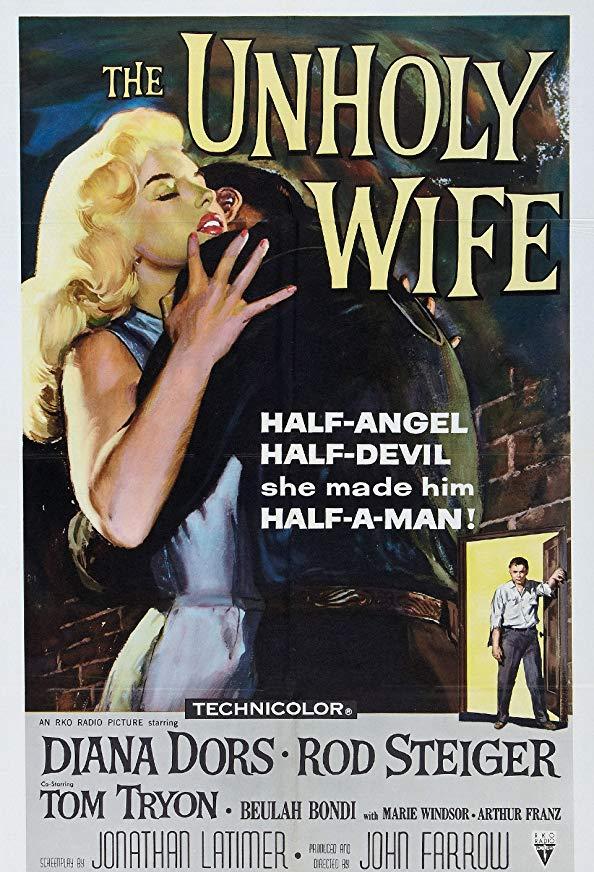 The Unholy Wife kapak