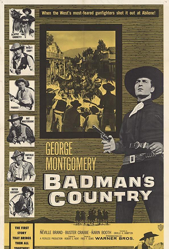 Badman's Country kapak
