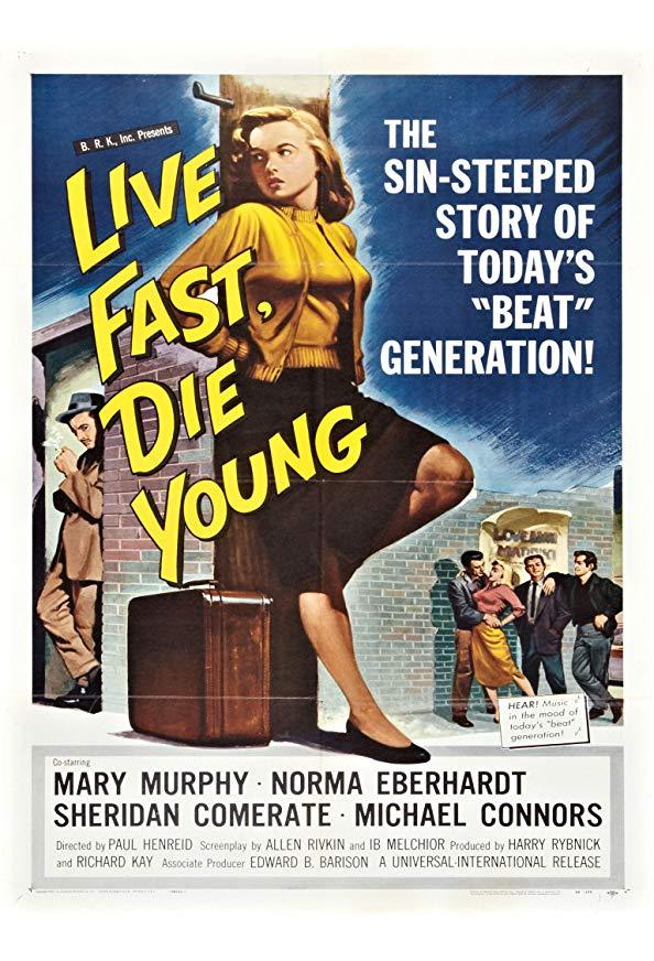 Live Fast, Die Young kapak